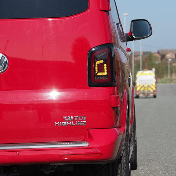 VW T6 Barndoor dynamic LED Lights MK3-9043