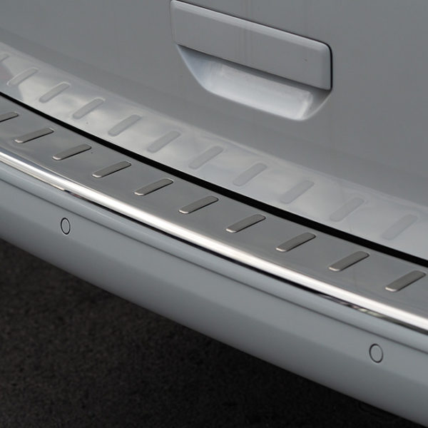 Rear Bumper Protector for VW T6 Tailgate Stainless Steel-8475