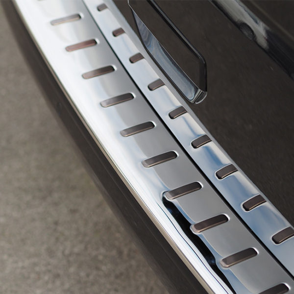 Rear Bumper Protector for VW T6 Tailgate Stainless Steel-8478