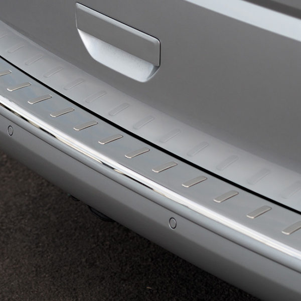 Rear Bumper Protector for VW T6 Tailgate Stainless Steel-8476