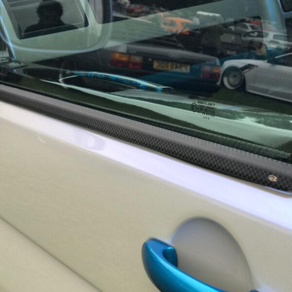 Window Sill Trims for VW T6 Transporter Range Carbon Fiber Film-20670