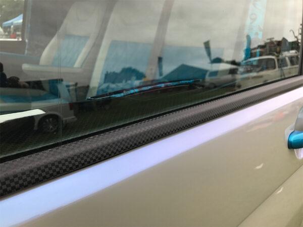 Window Sill Trims for VW T6 Transporter Range Carbon Fiber Film-20668