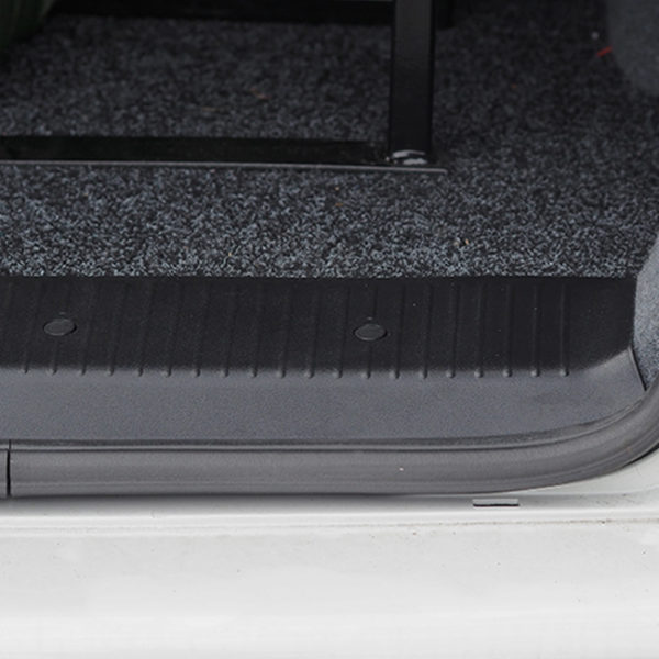 Threshold Protector & Side Step For VW T5, T5.1 & T6 BARNDOOR Including screws & screw caps-20717