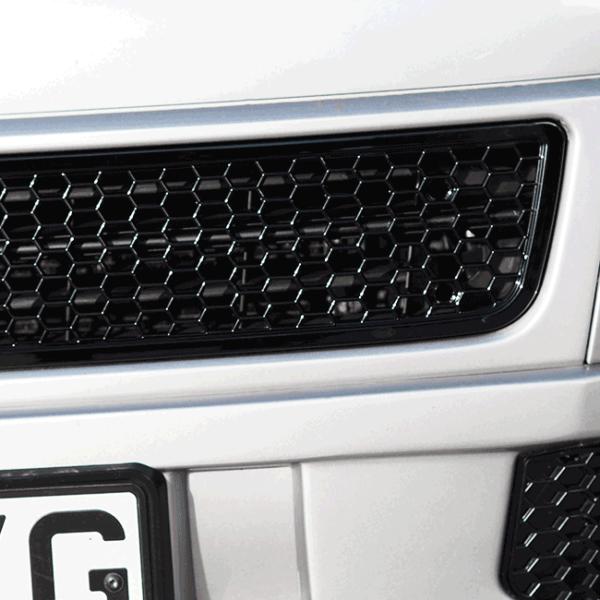 HONEYCOMB BUMPER MESH FOR VW T5.1 (GLOSS BLACK)-29689