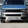 HONEYCOMB BUMPER MESH FOR VW T5.1 (GLOSS BLACK)-29691