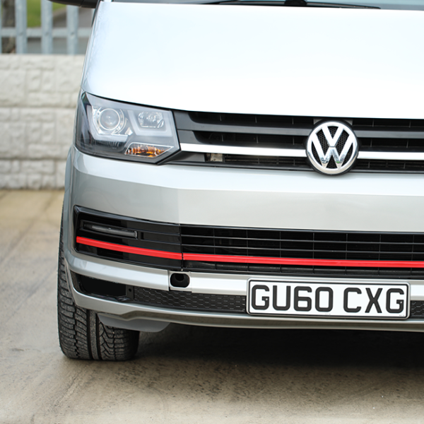 VW T5.1 NEW Front Bumper T5-X Upgrade Including DRL and Grille