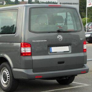 VW T5 Tailgate Heated Green Glass Window