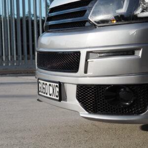 Styling Paket, Frontgrill + Blenden Nebelscheinwerfer, schwarz, VW 5.1, Van-X