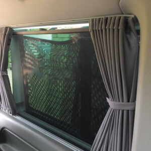 Mercedes Vito Bare-Metal Interior Window Curtains Eco-Line 2x Sides 1x Barndoor Curtains