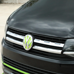 VW Transporter T6 Front Grille Trims (4Pcs) - Matte Chrome