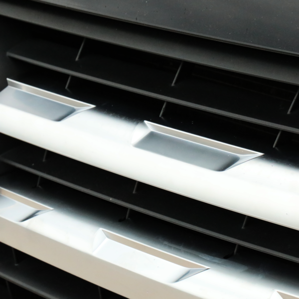 VW Transporter T6 Front Grille Trims (4Pcs) - Matte Chrome