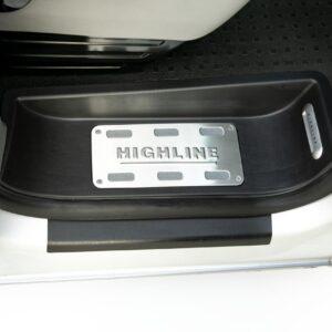 """3-teiliges Premium-Plus Trittschalen / Einstiege Set""""HIGHLINE"""" für VW T6, Van-X"""