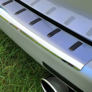 Rear Bumper Protector For VW T5 T5.1 Stainless Steel