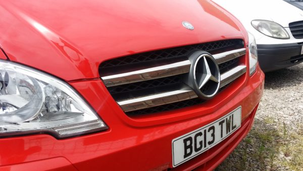 Mercedes Vito Front Grille 4 Piece Stainless Steel