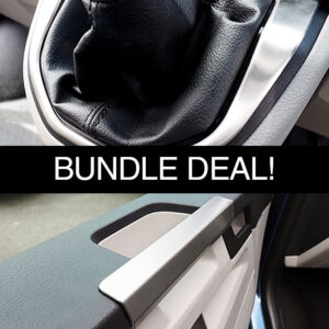Gear Surround & Grab Handles For VW T6 Transporter Bundle Stainless Steel