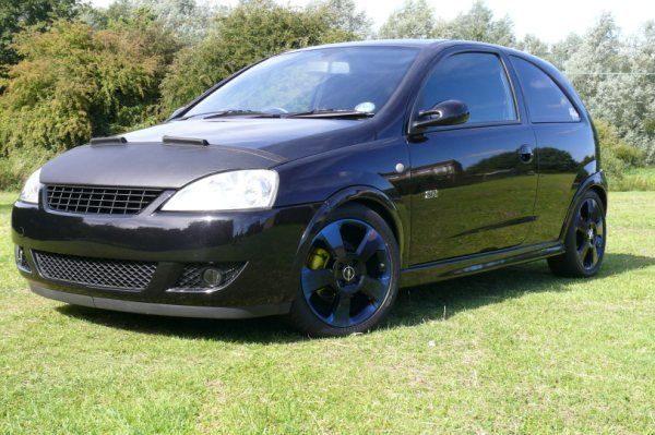 Half Bonnet Bra + Wind Deflectors For Vauxhall Corsa C