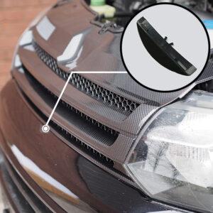 Dark Carbon Badgeless Grille For Volkswagen T5.1 *Clearance* [B Grade]