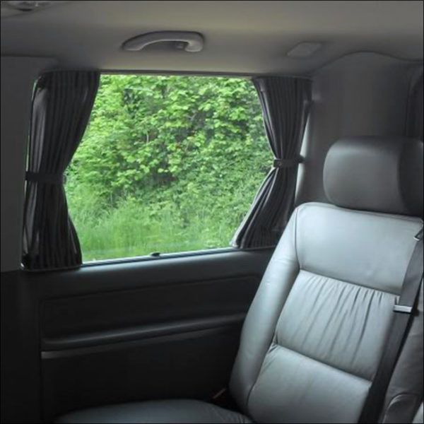 VW T4 Window Curtains Eco-Line 4x Side 1x Tailgate Curtain Kits