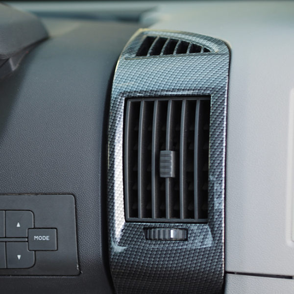 Dashboard Air Vent (Dark Carbon) For Fiat Ducato, Peugeot Boxer, Citroen Relay