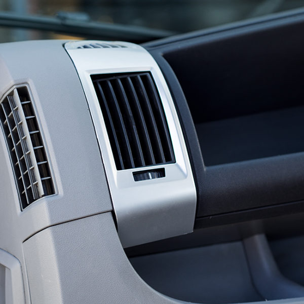 Dashboard Air Vent (Silver) For Fiat Ducato, Peugeot Boxer, Citroen Relay