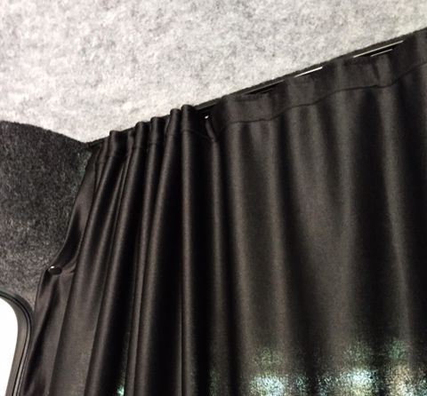 VW Caddy Cab Divider Curtain Kit