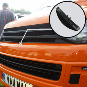 Matte Black Badgeless Grille For Volkswagen T5.1 *Clearance* [B Grade]