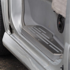Mazda Bongo Step Protectors (3 Pcs) Stainless Steel
