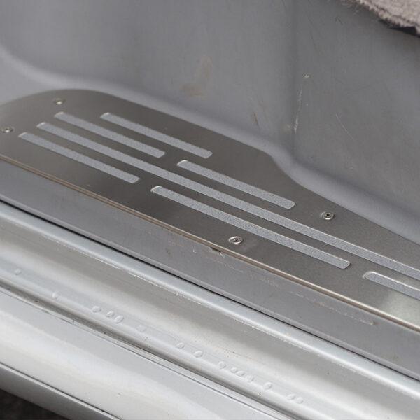 Mazda Bongo Step Protectors (3 Pcs) Stainless Steel