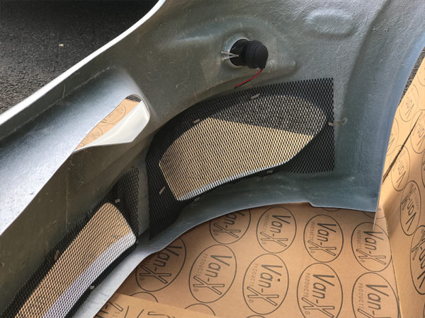 Front Bumper Spoiler For Mercedes Sprinter MK4