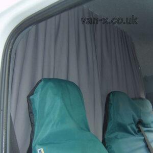 Peugeot Boxer Maxi-Cab Divider Curtain Kit