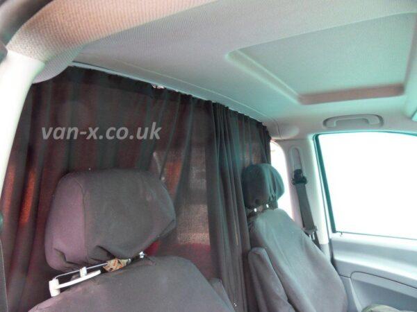 Mercedes Vito Cab Divider Curtain Kit
