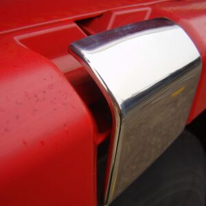 Stainless Steel Door Latch Trims Scania R & 4 Series