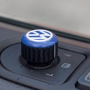 Mirror Switch / Cap (Aluminium) For VW T5, T6, Caravelle, California