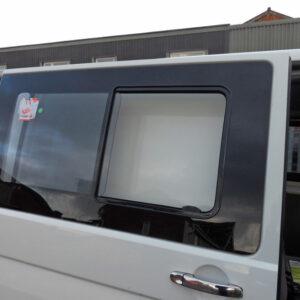 Side Sliding Window Smoked Glass For VW T6 Transporter (B Grade)