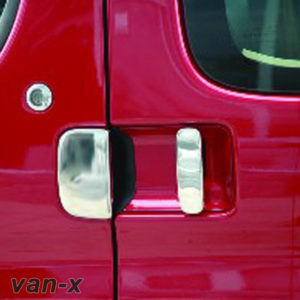 Door Handle Covers (5 Pcs) For Citroen Berlingo / Peugeot Partner Stainless Steel