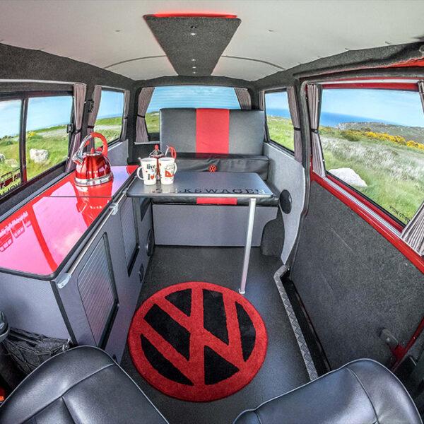 VW Volkswagen T6 Premium 3 x Side Window, 1 x Tailgate Curtain Van-X