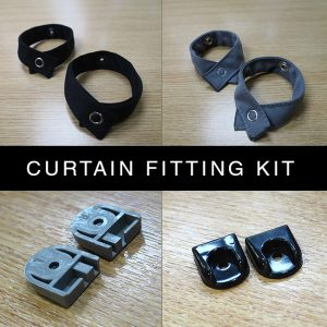 Van-X Curtain Fitting Kit For New Rails