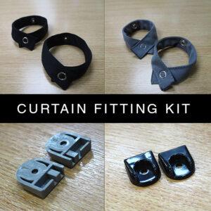 Van-X Curtain Fitting Kit For New Rails