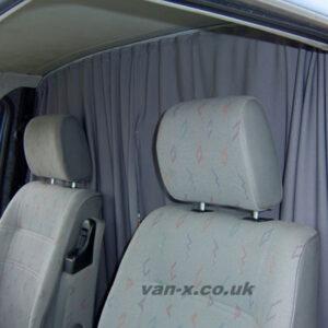 Peugeot Boxer Cab Divider Curtain Kit