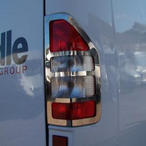 Mercedes Sprinter MK2 Rear Light Guard Stainless Steel