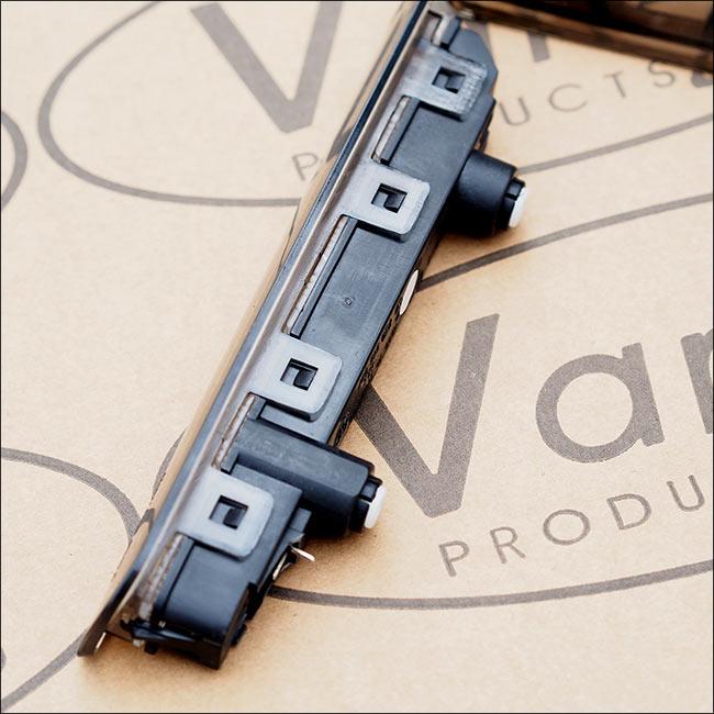 VAN-X Compatible with VW T5 Transporter 3rd Brake Light Lens Barn Door Only
