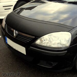 Half Bonnet Bra / Cover Black For Vauxhall Corsa C