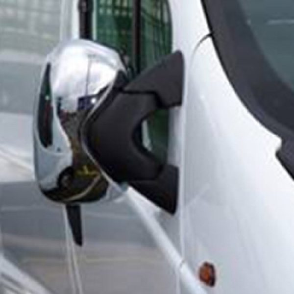 Renault Trafic Abs Mirror Covers Chrome