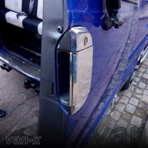 VW T4 Transporter Barndoor Handle Cover Stainless Steel