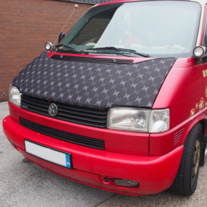 VW T4 Transporter Bonnet Bra, Cover Skulls HD Print