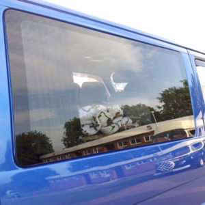 VW T4 Transporter Fixed Side Window Smoked Glass