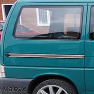 VW T4 Transporter Rear Quarter Panel Window Smoked Glass Swb