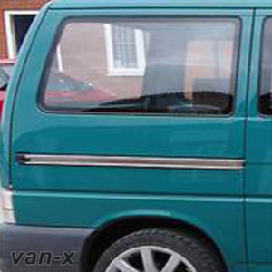 Smoked Rear Quarter Panel Window For VW T4 Transporter Lwb