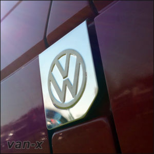 VW T4 Fuel Cap Flap Cover For Transporter Stainless Steel