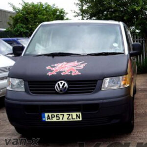 VW T5 Bonnet Bra / Cover Welsh Dragon